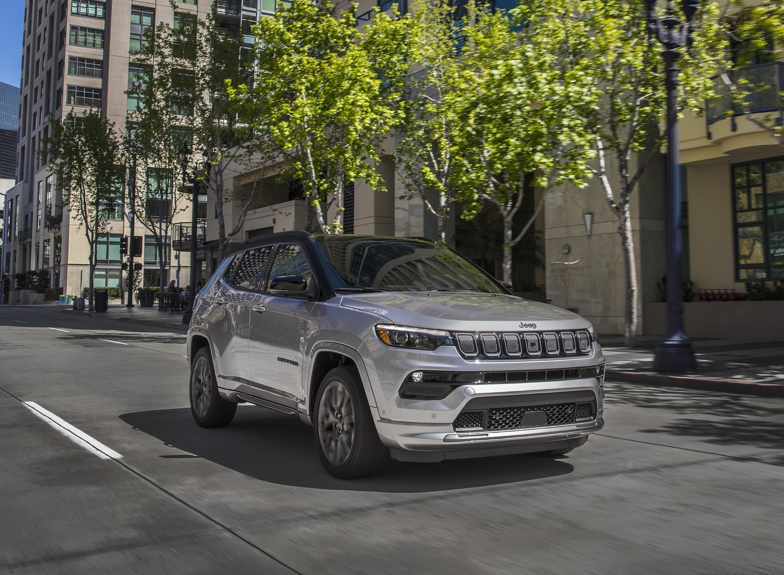 2022 Jeep Compass High Altitude Front Three-Quarter Wallpapers (8)