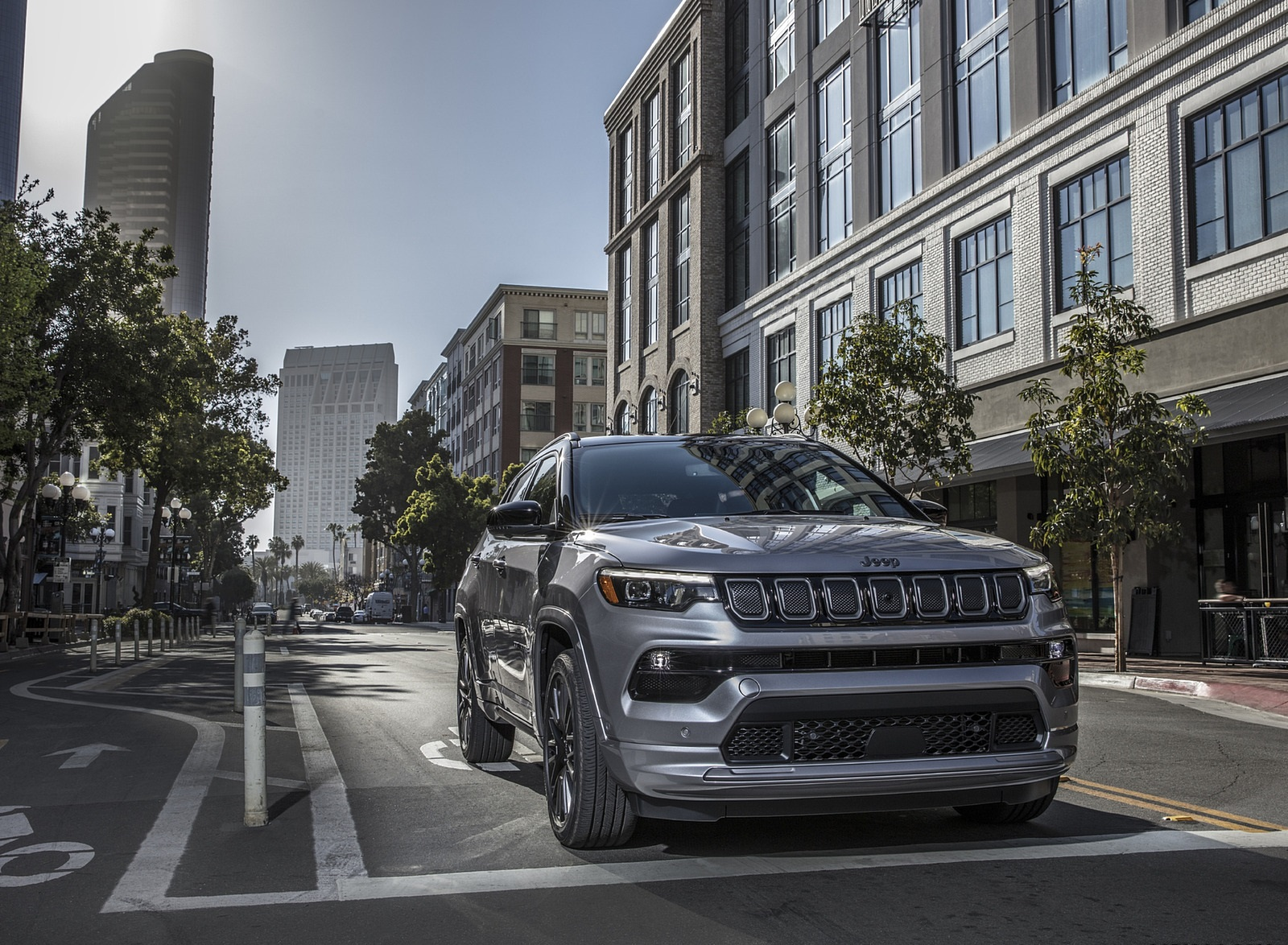 2022 Jeep Compass High Altitude Front Three-Quarter Wallpapers (7)