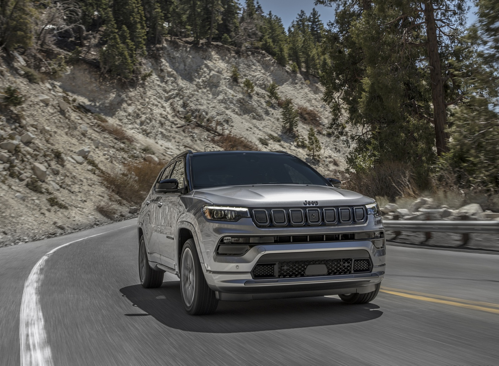 2022 Jeep Compass High Altitude Front Three-Quarter Wallpapers (1)