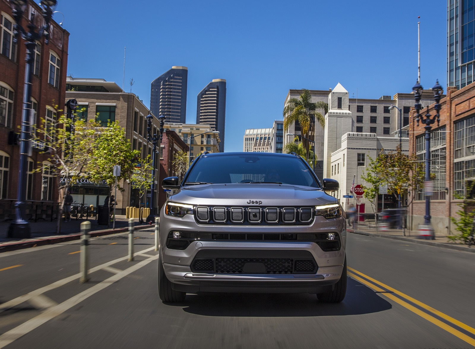 2022 Jeep Compass High Altitude Front Wallpapers (3)