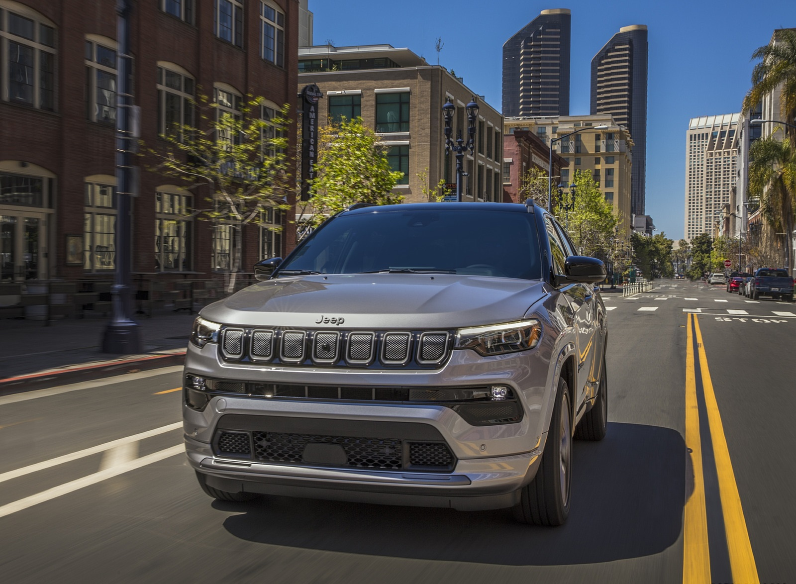 2022 Jeep Compass High Altitude Front Wallpapers (4)