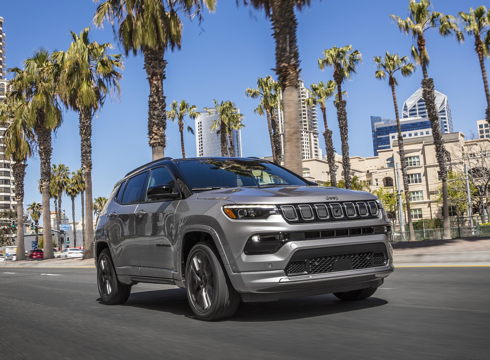 2022 Jeep Compass High Altitude Front Wallpapers (6)