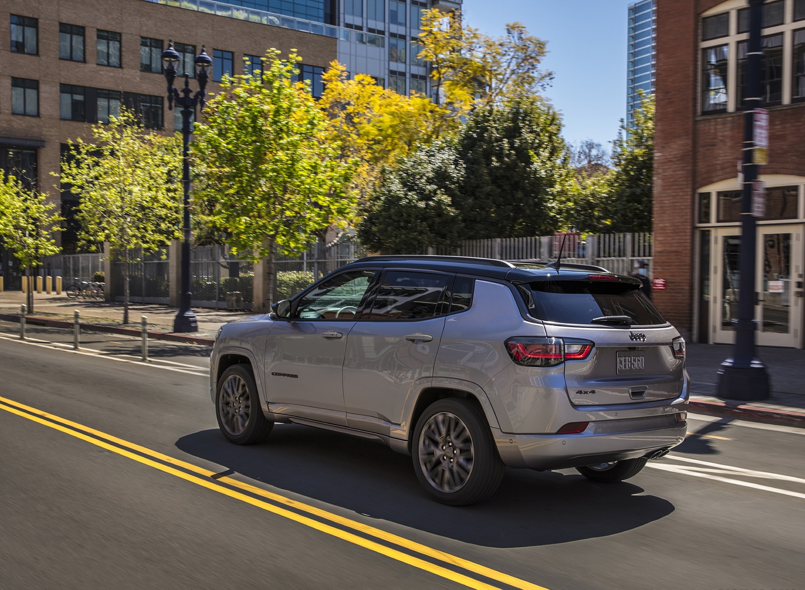 2022 Jeep Compass High Altitude Rear Three-Quarter Wallpapers (5)