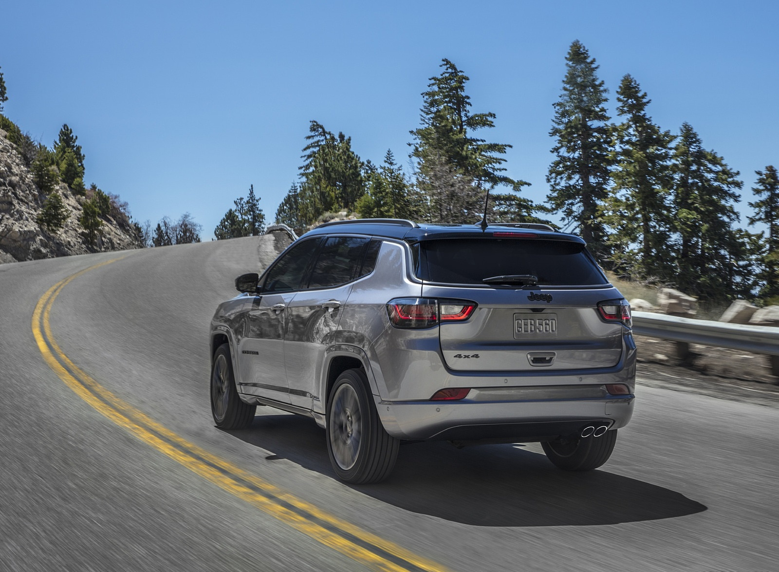 2022 Jeep Compass High Altitude Rear Three-Quarter Wallpapers (2)