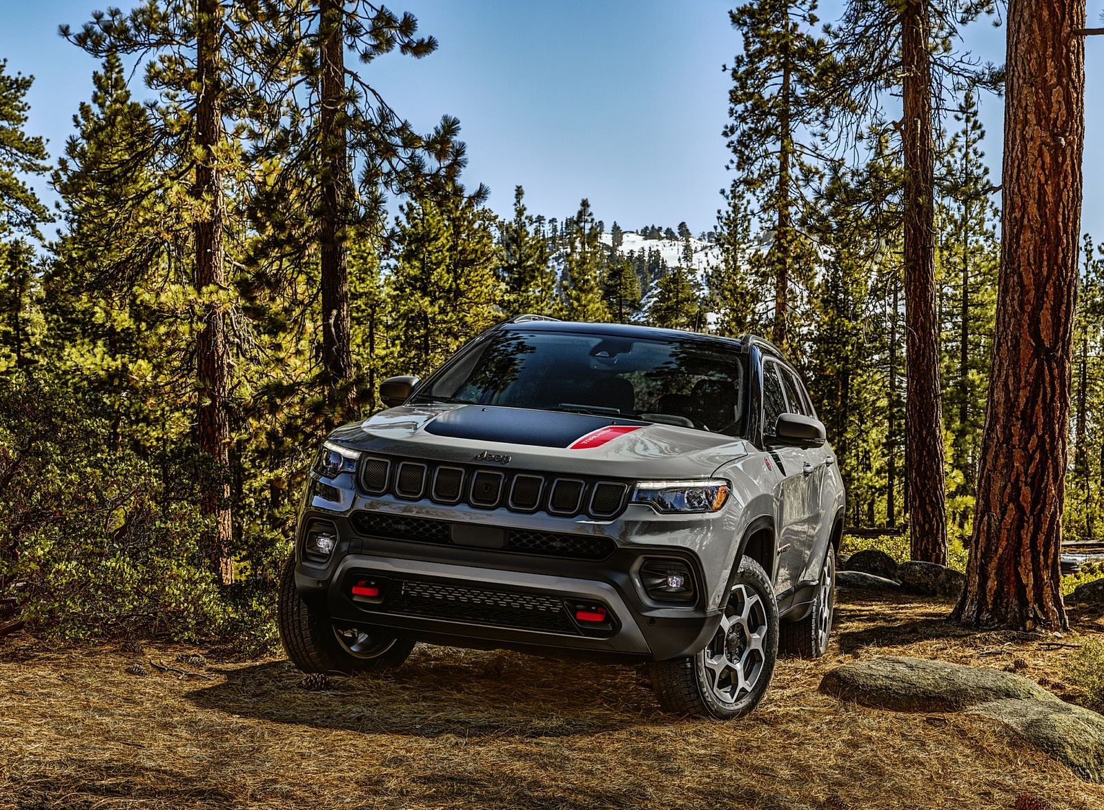 2022 Jeep Compass Trailhawk Front Wallpapers (6)