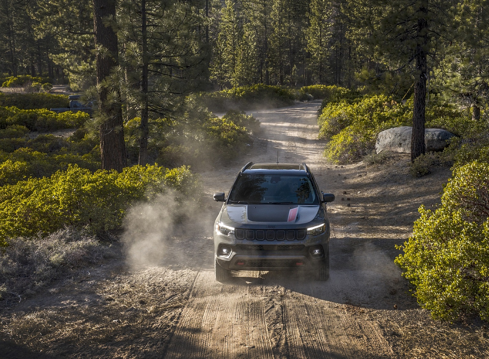 2022 Jeep Compass Trailhawk Front Wallpapers (3)