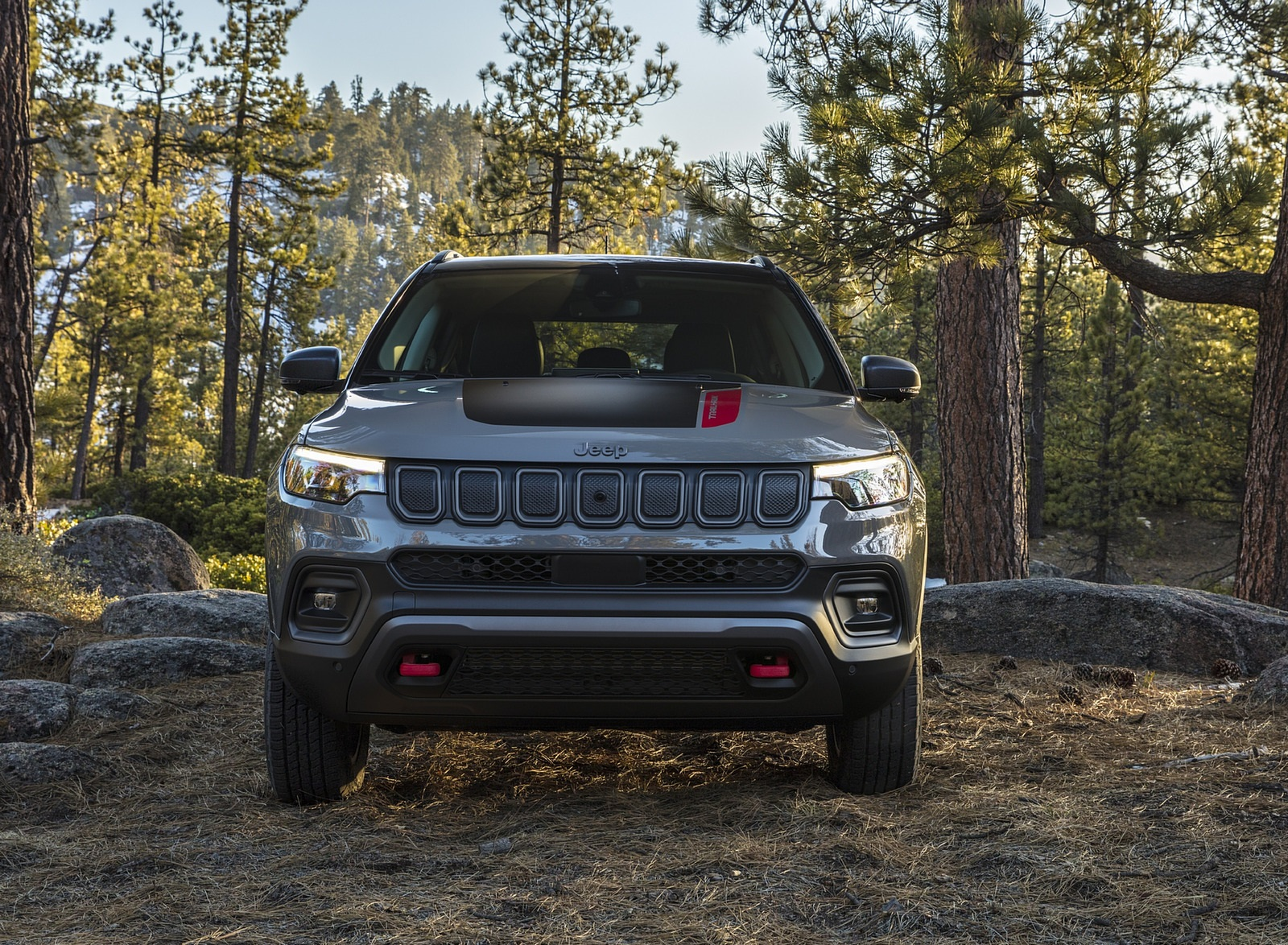 2022 Jeep Compass Trailhawk Front Wallpapers (7)