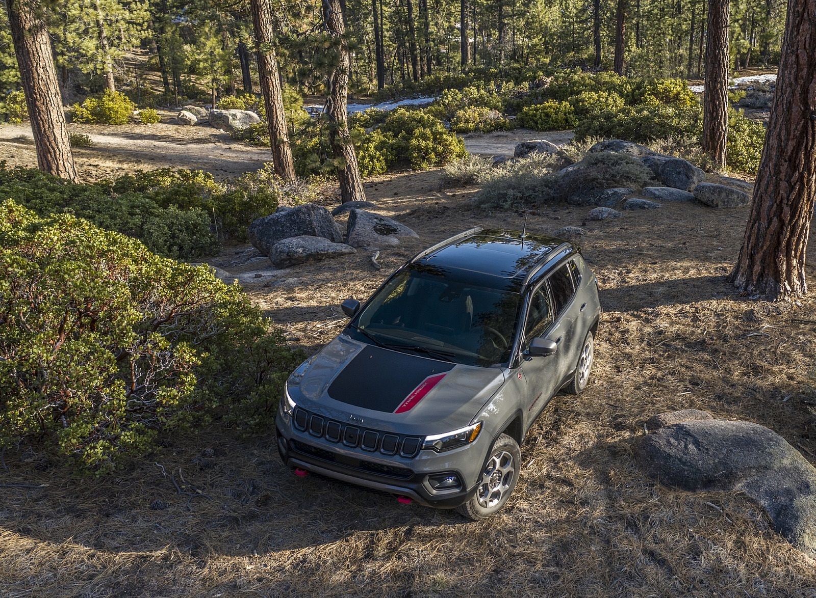 2022 Jeep Compass Trailhawk Front Wallpapers (8)