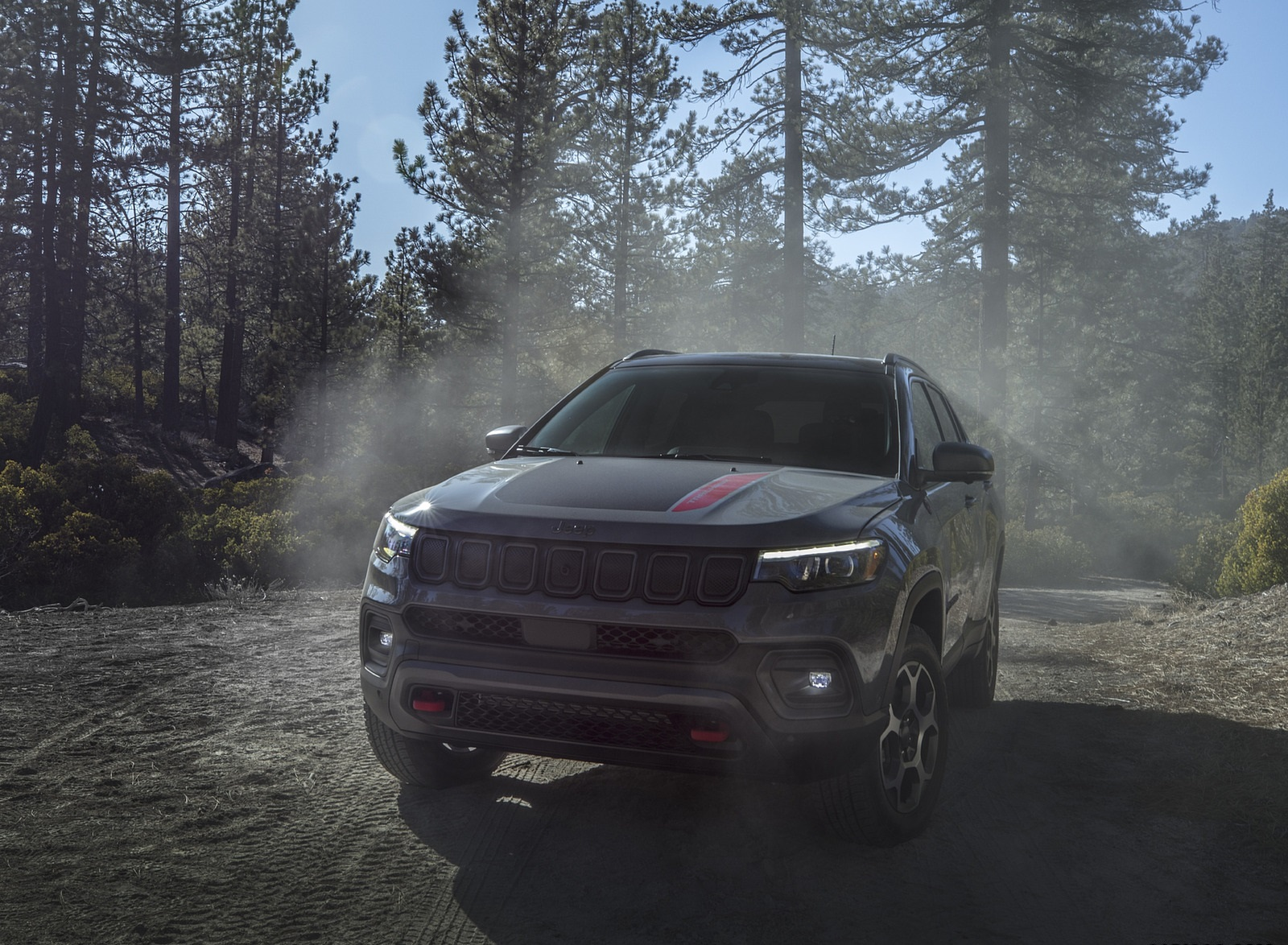2022 Jeep Compass Trailhawk Front Wallpapers (1)