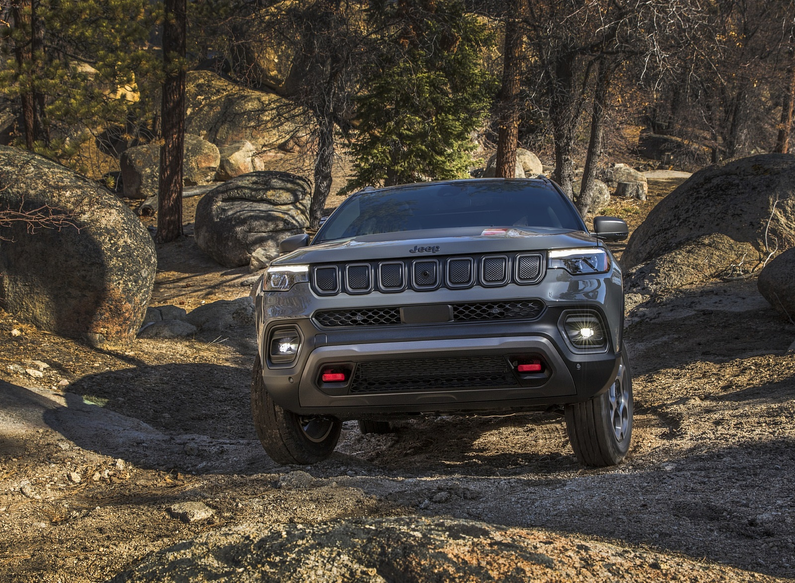 2022 Jeep Compass Trailhawk Off-Road Wallpapers (5)