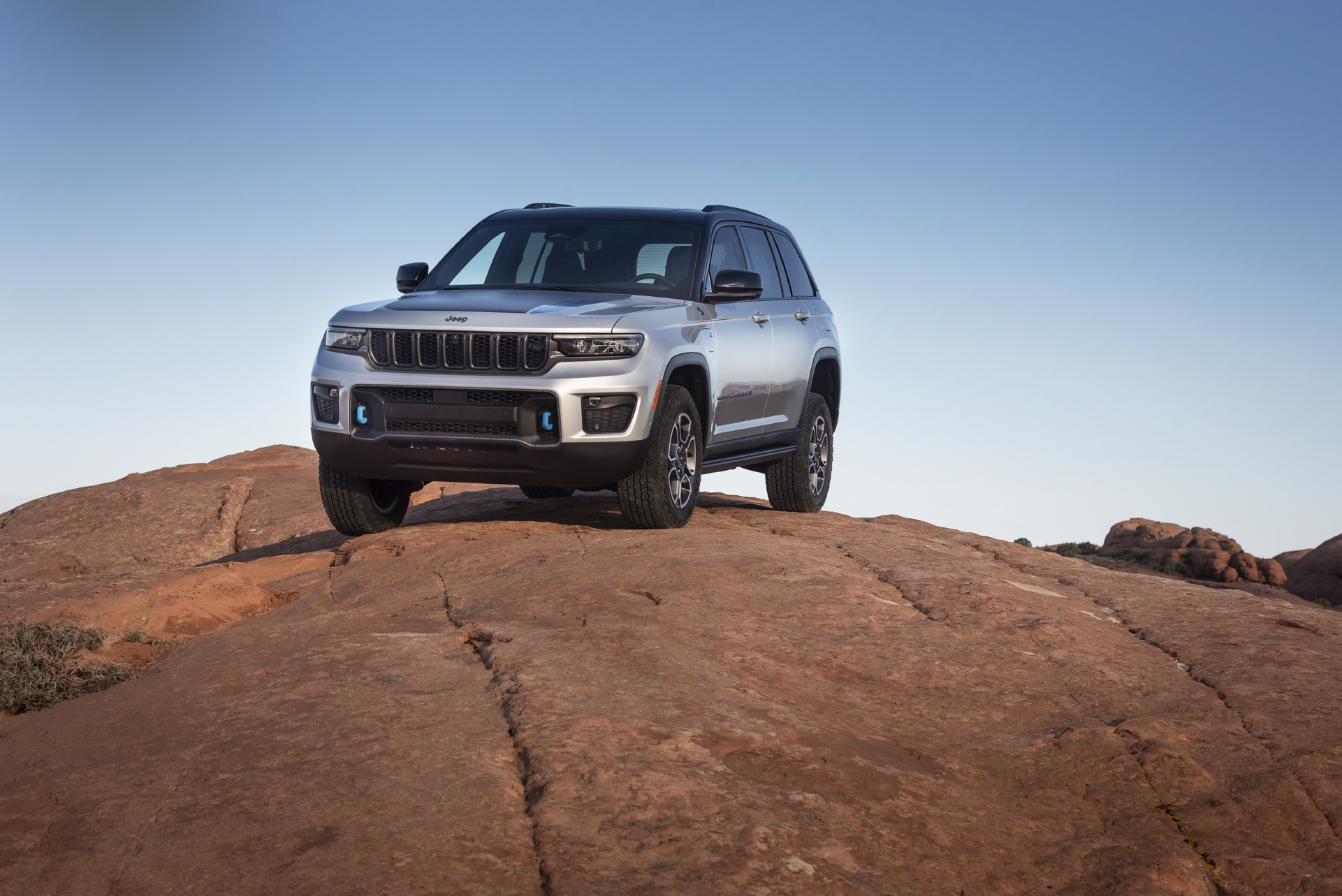 2022 Jeep Grand Cherokee Trailhawk 4xe Front Three-Quarter Wallpapers (9)