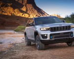 2022 Jeep Grand Cherokee Trailhawk 4xe Front Wallpapers 150x120 (10)