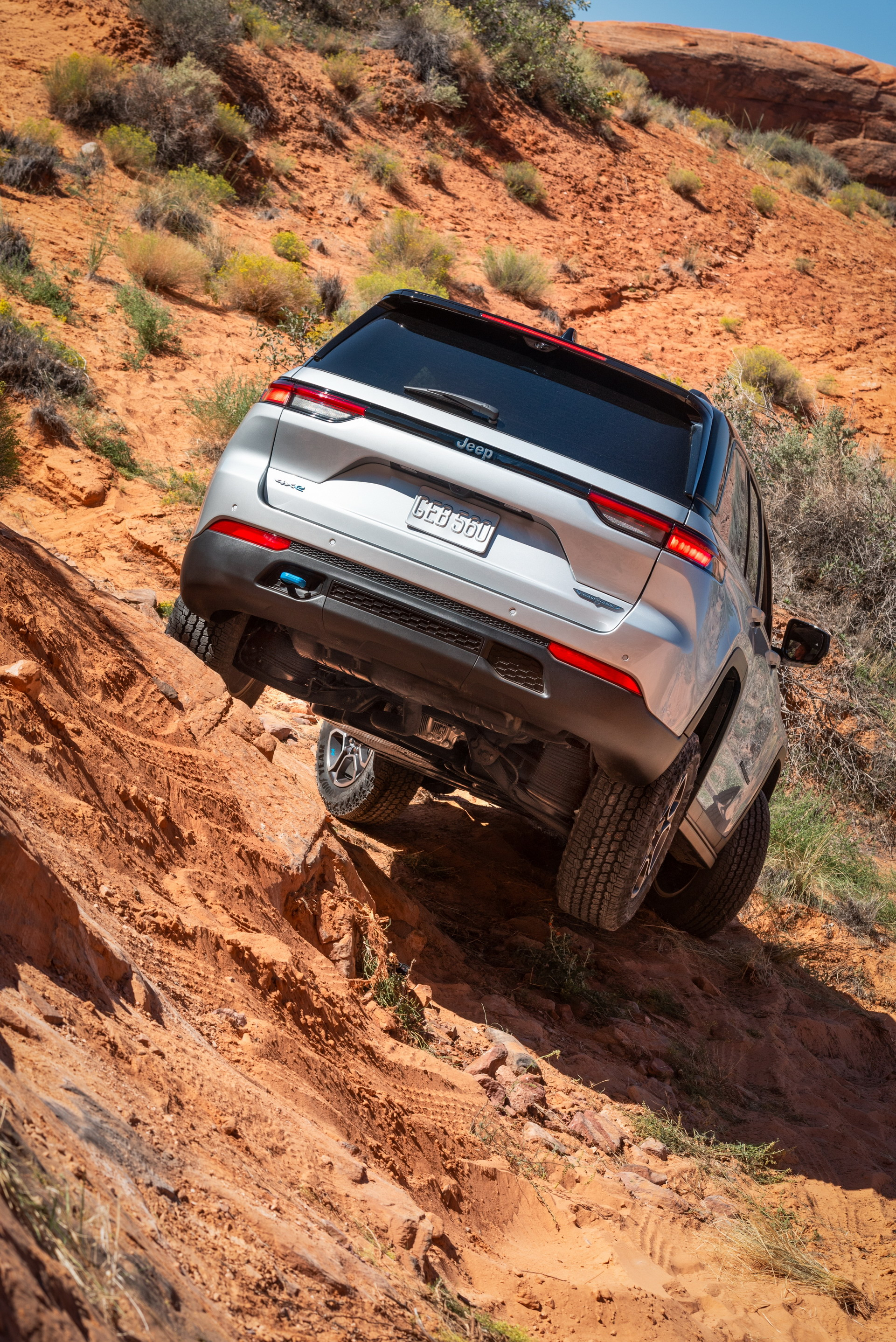 2022 Jeep Grand Cherokee Trailhawk 4xe Off-Road Wallpapers (7)