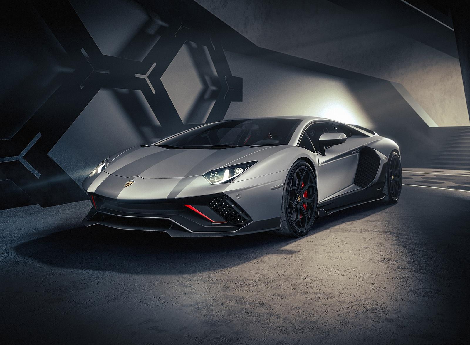 2022 Lamborghini Aventador LP 780-4 Ultimae Front Three-Quarter Wallpapers (10)