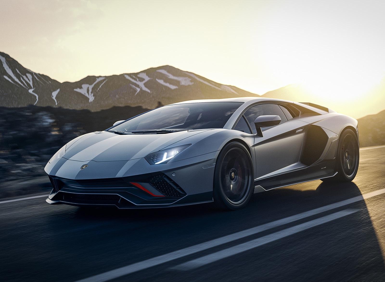2022 Lamborghini Aventador LP 780-4 Ultimae Front Three-Quarter Wallpapers (1)