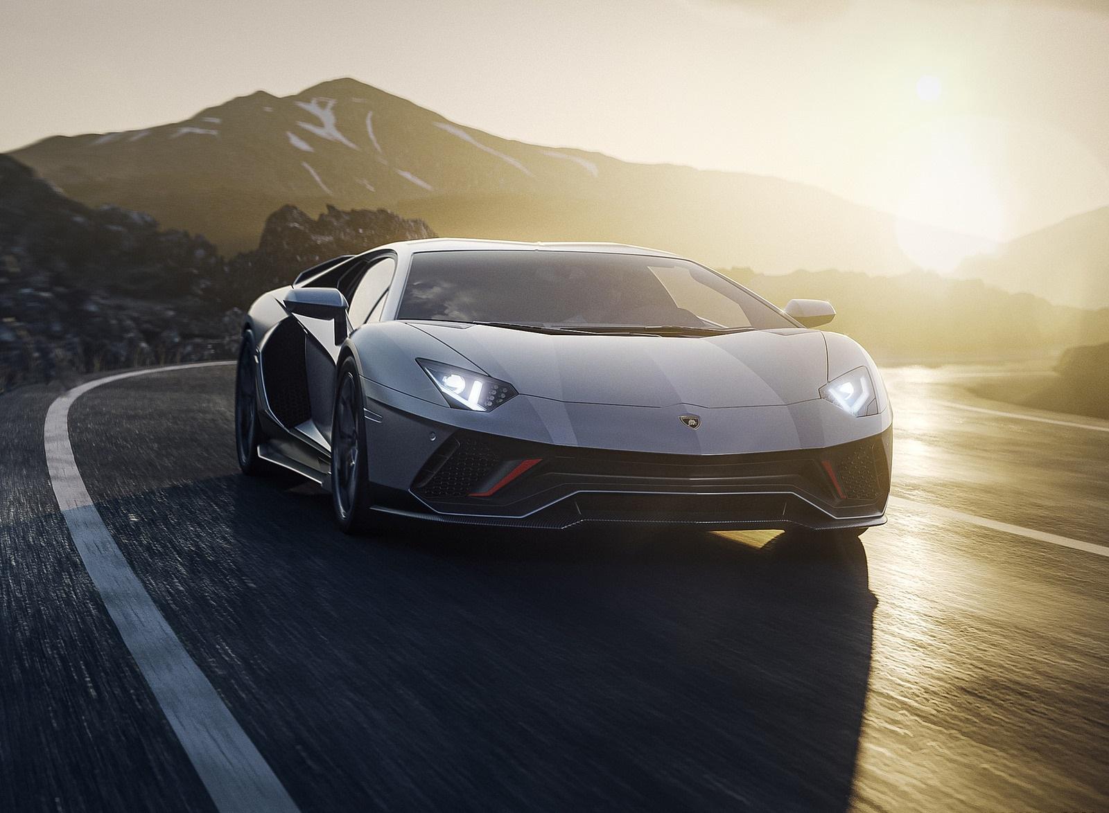 2022 Lamborghini Aventador LP 780-4 Ultimae Front Wallpapers (2)