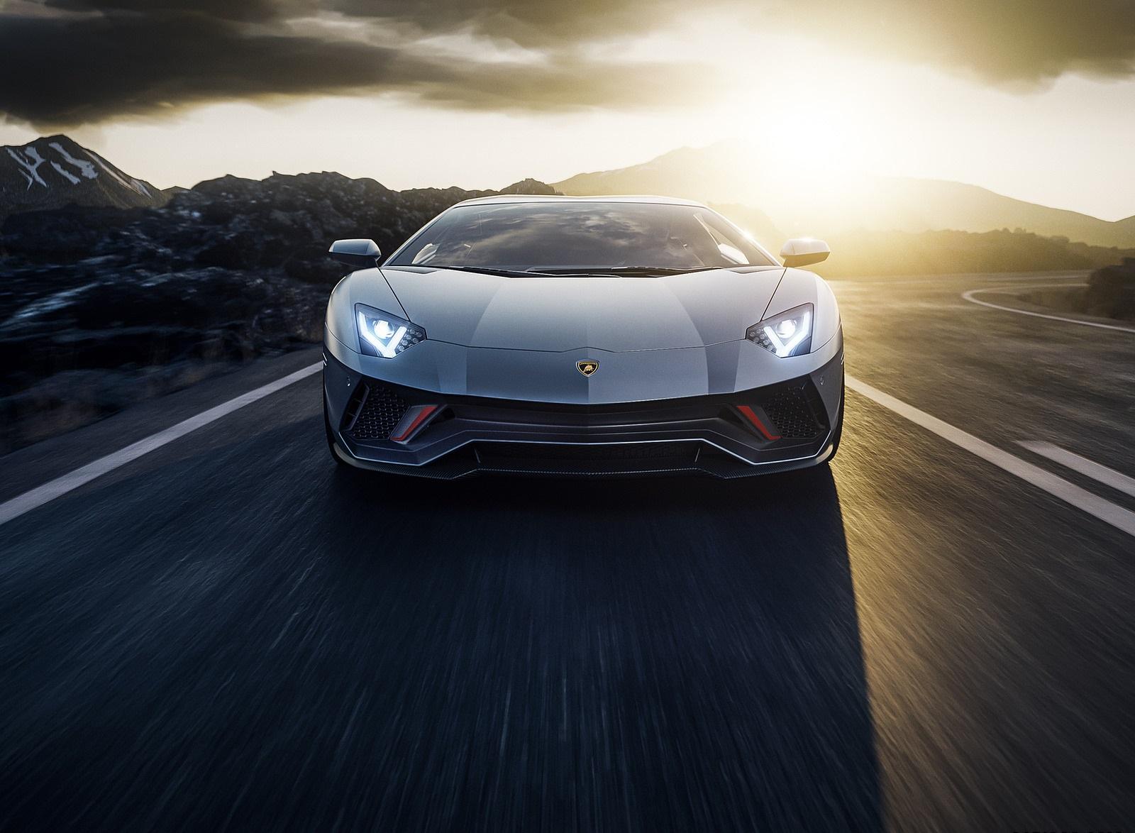 2022 Lamborghini Aventador LP 780-4 Ultimae Front Wallpapers (5)
