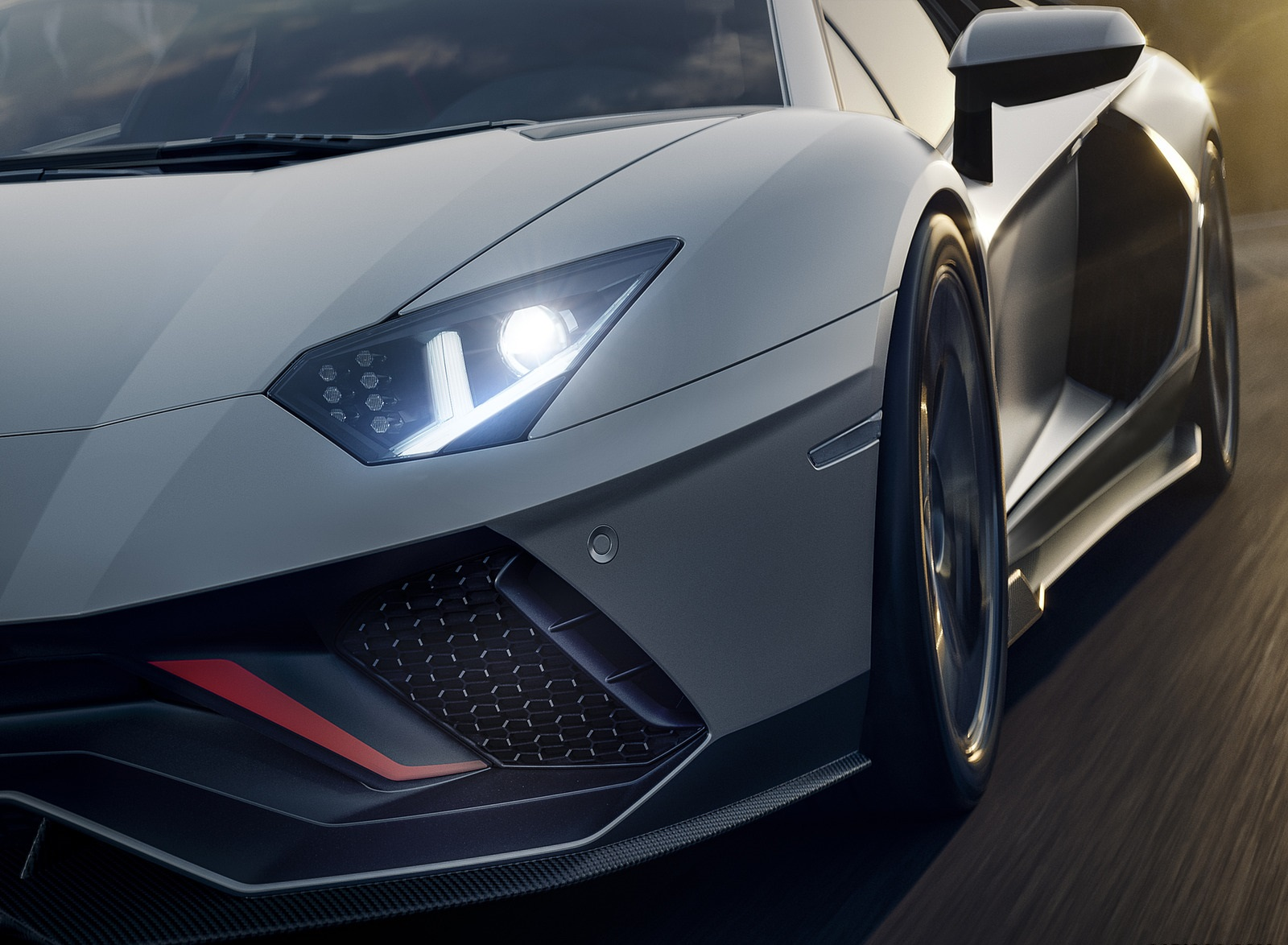 2022 Lamborghini Aventador LP 780-4 Ultimae Headlight Wallpapers (8)