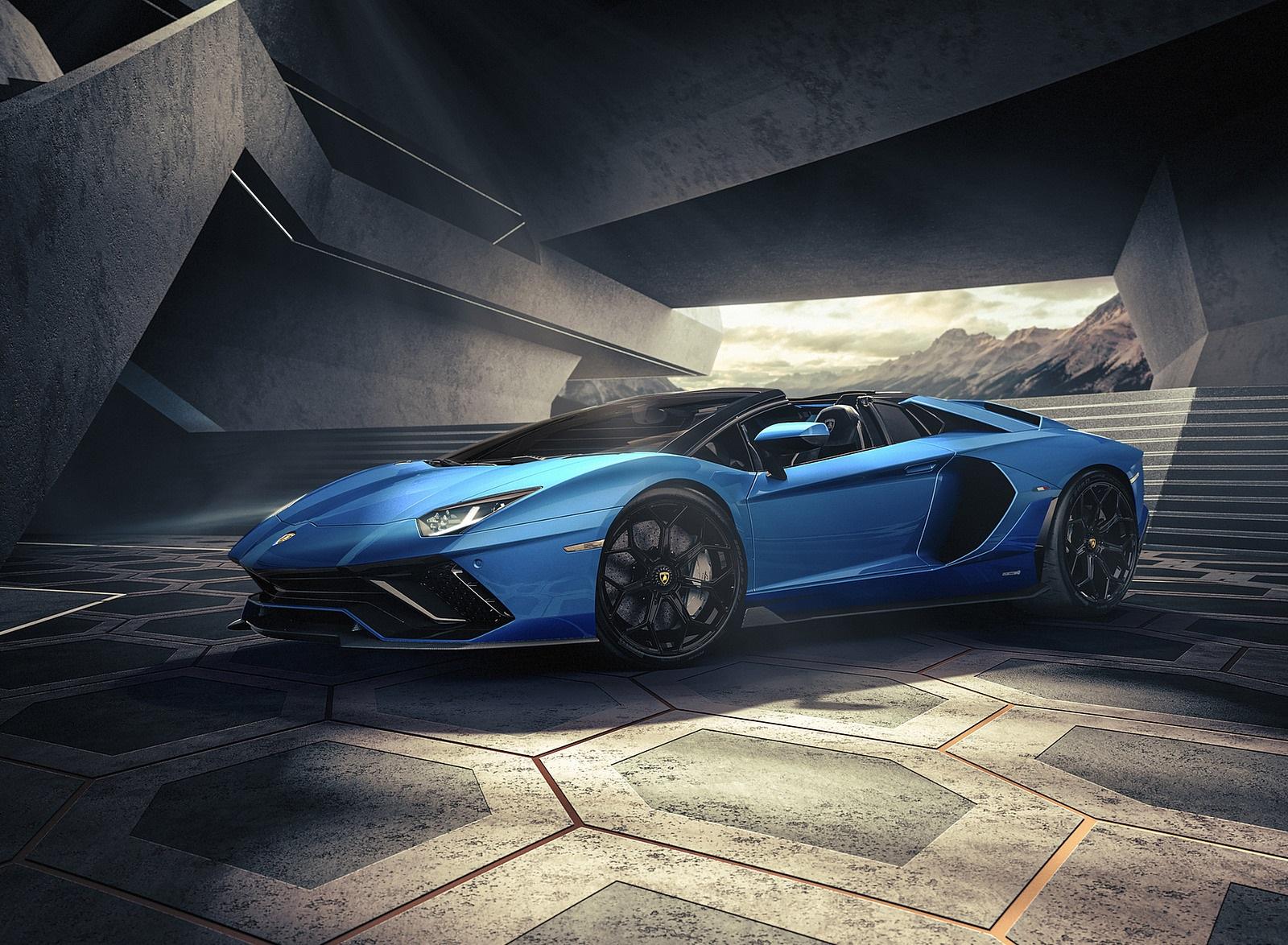 2022 Lamborghini Aventador LP 780-4 Ultimae Roadster Front Three-Quarter Wallpapers (8)