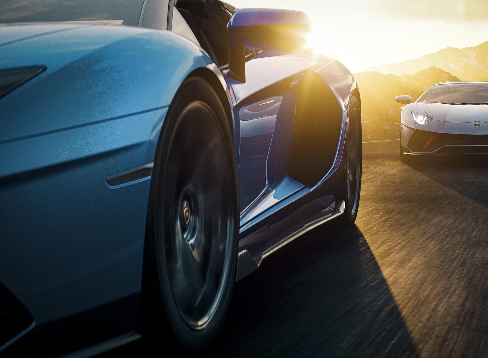 2022 Lamborghini Aventador LP 780-4 Ultimae Roadster Wallpapers (7)