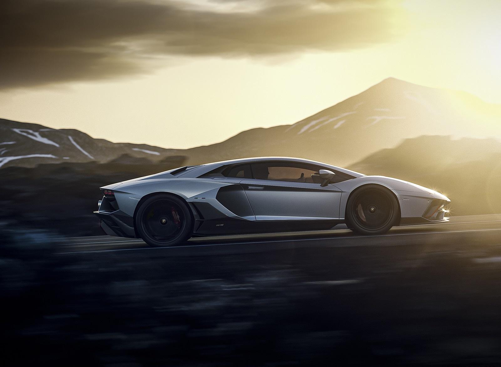2022 Lamborghini Aventador LP 780-4 Ultimae Side Wallpapers (4)