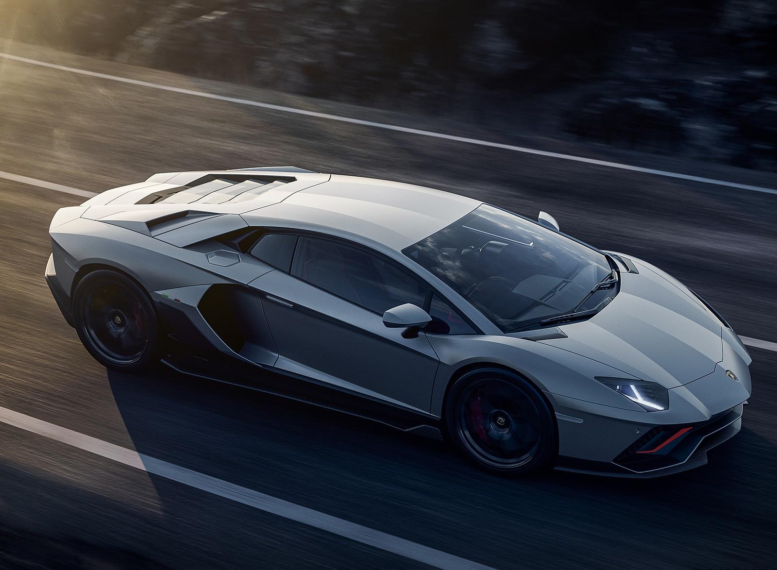 2022 Lamborghini Aventador LP 780-4 Ultimae Top Wallpapers (3)