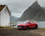 2022 Porsche Macan GTS (Color: Carmine Red) Front Three-Quarter Wallpapers 150x120 (37)