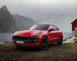 2022 Porsche Macan GTS (Color: Carmine Red) Front Three-Quarter Wallpapers 150x120 (35)