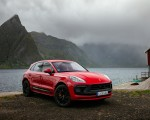 2022 Porsche Macan GTS (Color: Carmine Red) Front Three-Quarter Wallpapers 150x120 (34)