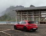 2022 Porsche Macan GTS (Color: Carmine Red) Rear Three-Quarter Wallpapers 150x120 (39)