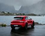 2022 Porsche Macan GTS (Color: Carmine Red) Rear Three-Quarter Wallpapers 150x120 (43)