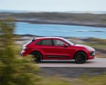 2022 Porsche Macan GTS (Color: Carmine Red) Side Wallpapers 150x120 (24)