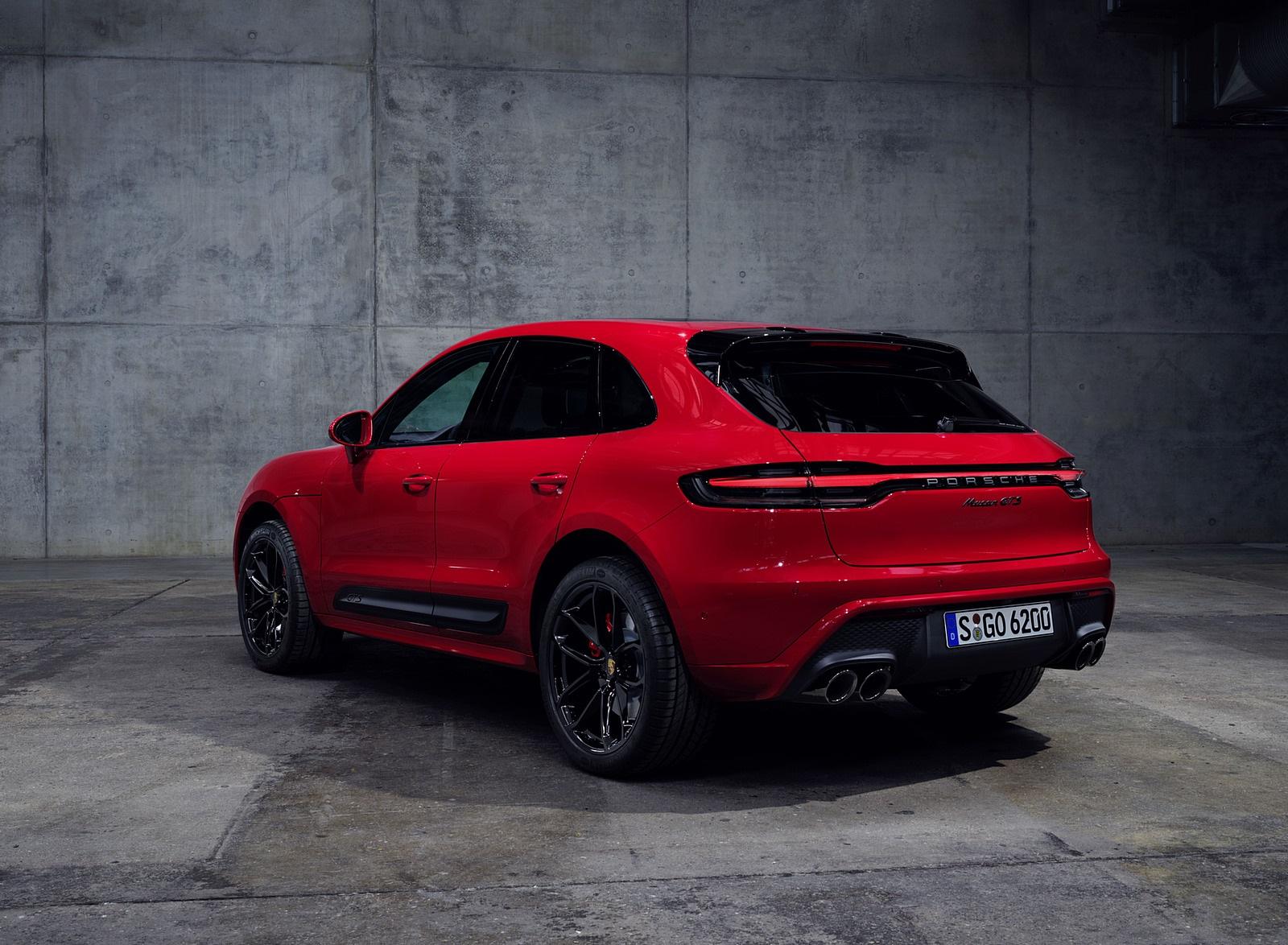 2022 Porsche Macan GTS Rear Three-Quarter Wallpapers (10)