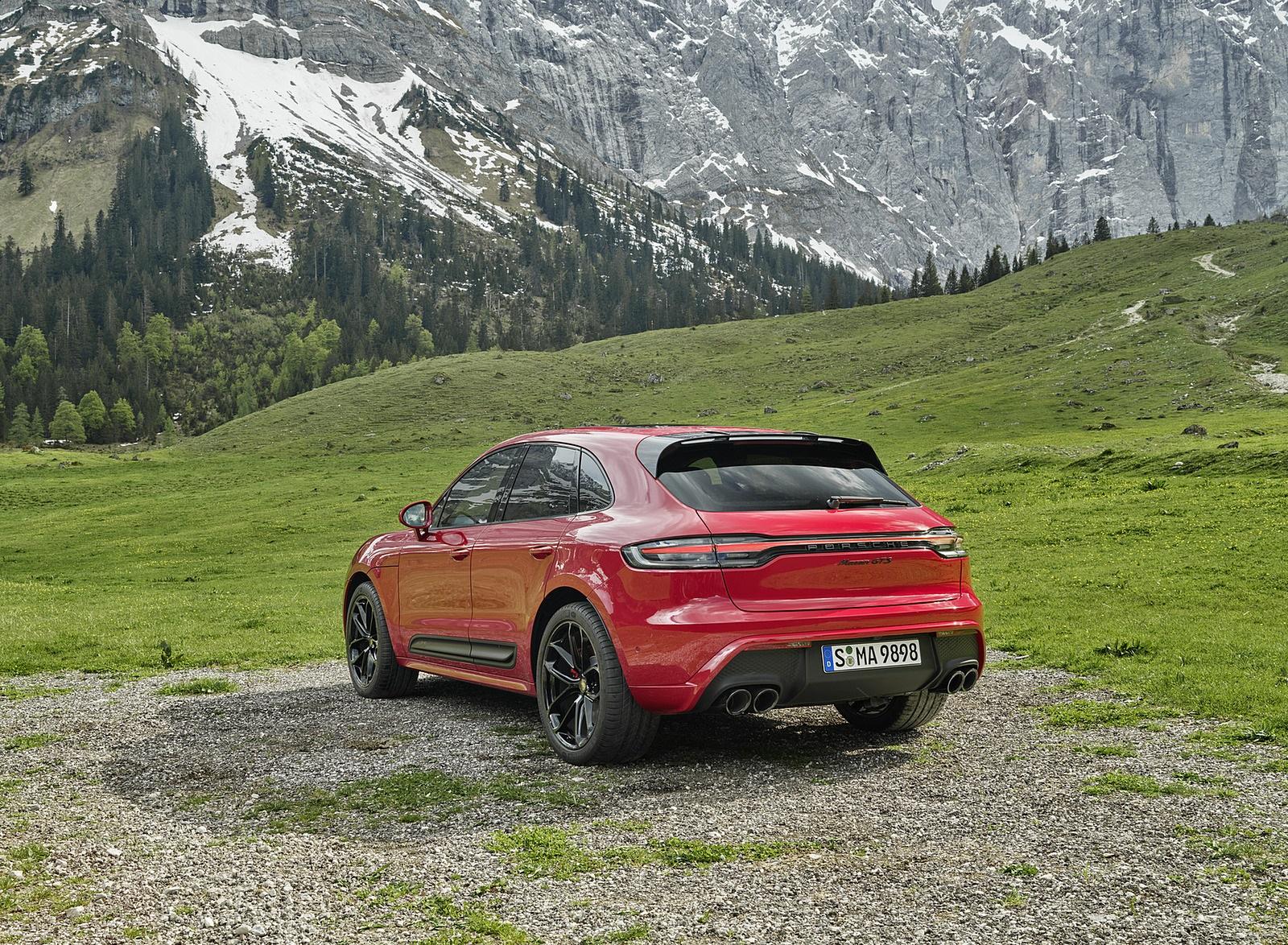 2022 Porsche Macan GTS Rear Three-Quarter Wallpapers (8)