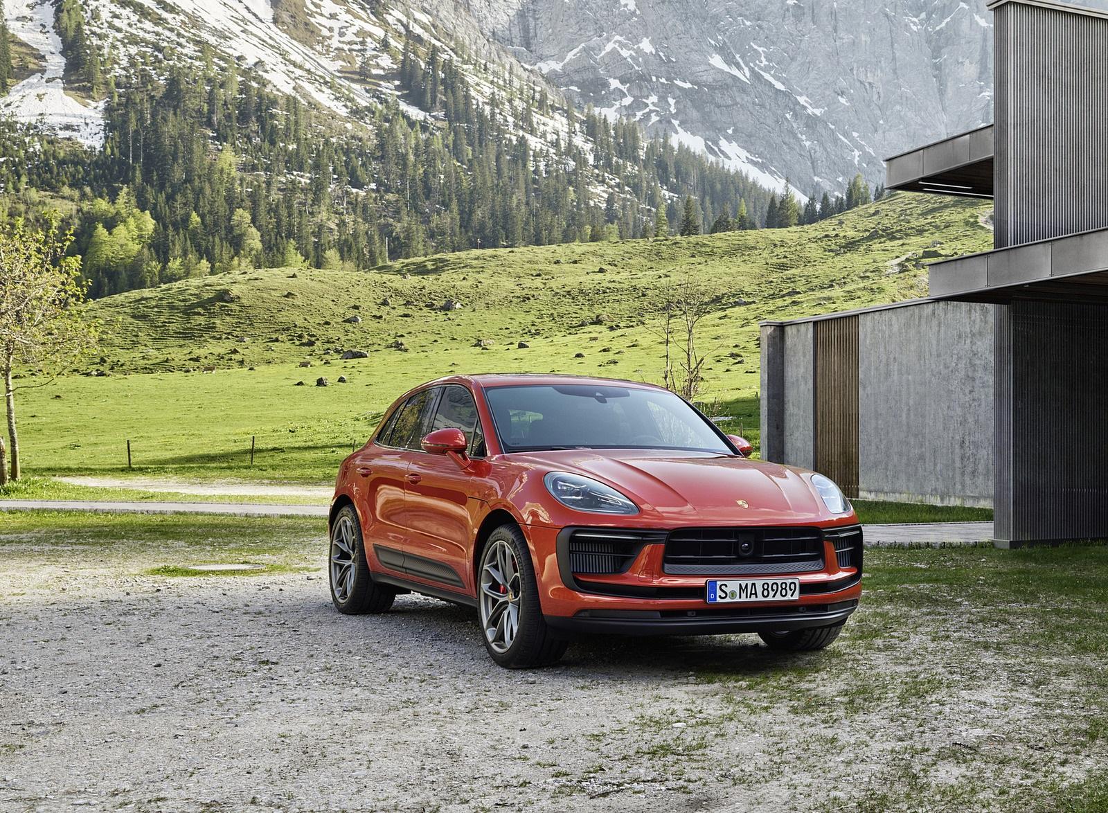 2022 Porsche Macan S Front Three-Quarter Wallpapers (7)