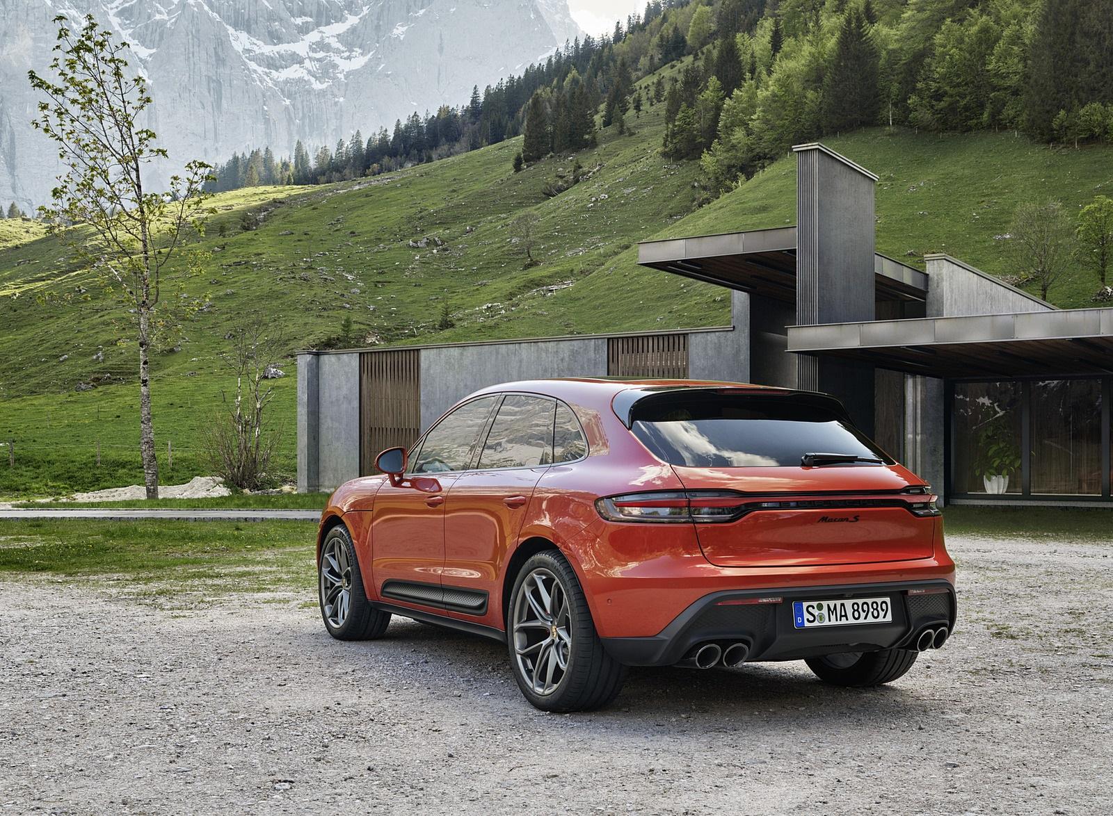 2022 Porsche Macan S Rear Three-Quarter Wallpapers (8)