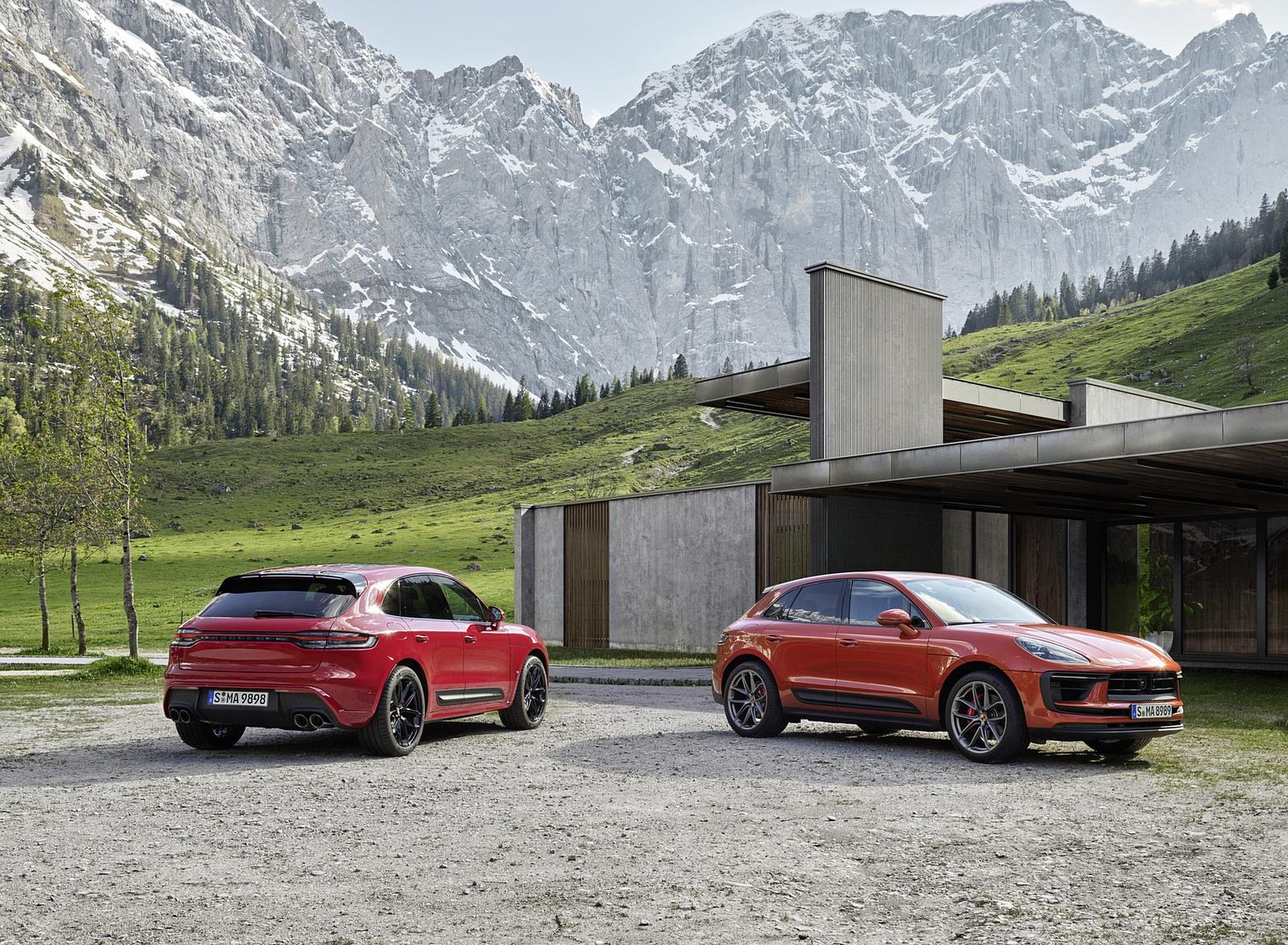 2022 Porsche Macan S and Macan GTS Wallpapers (9)