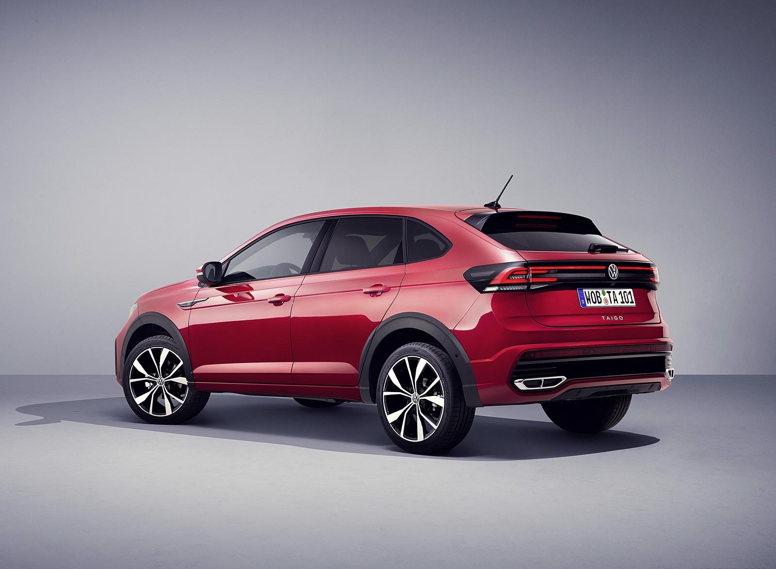 2022 Volkswagen Taigo R-Line Rear Three-Quarter Wallpapers (5)
