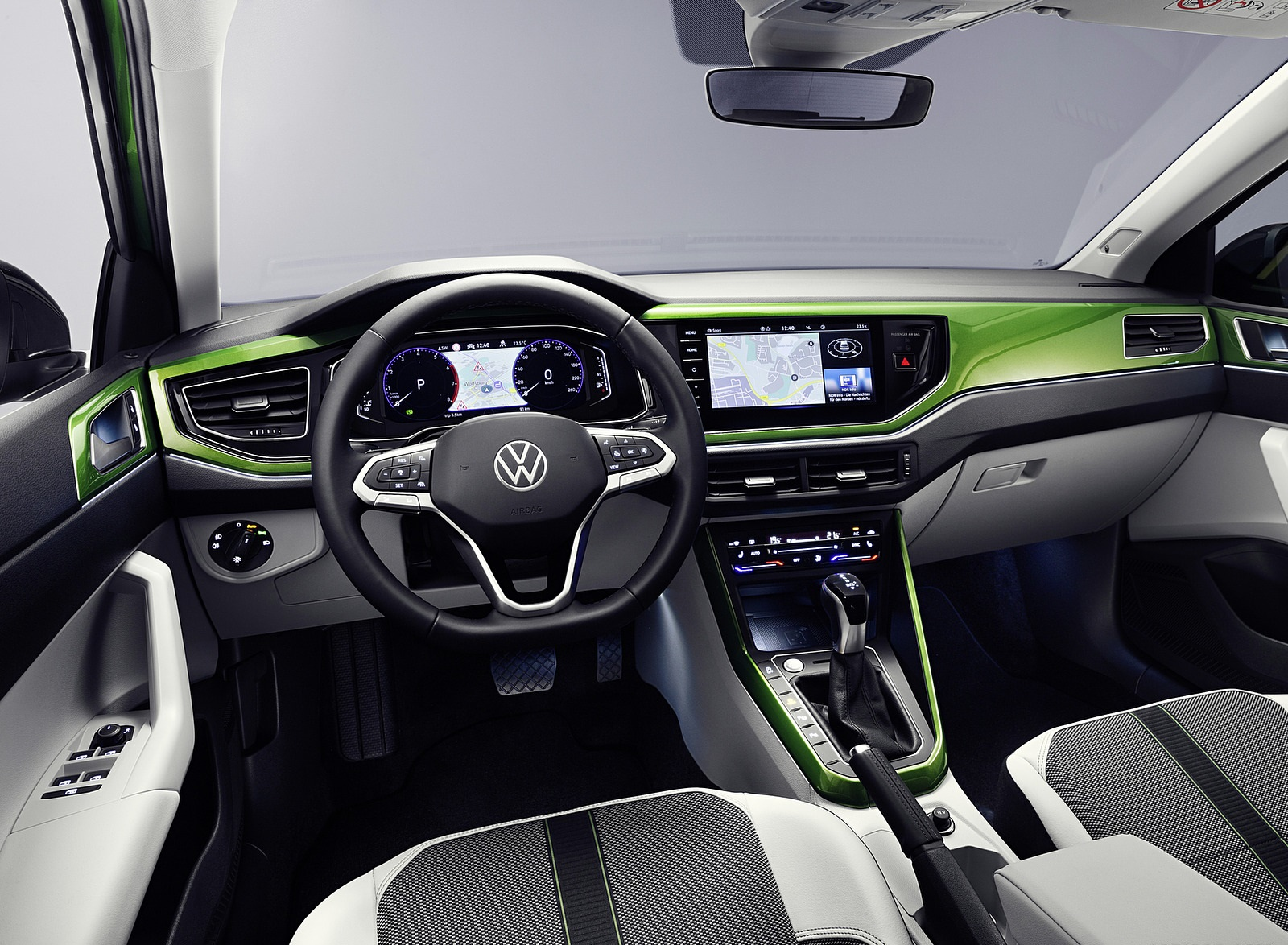 2022 Volkswagen Taigo Style Interior Wallpapers (9)