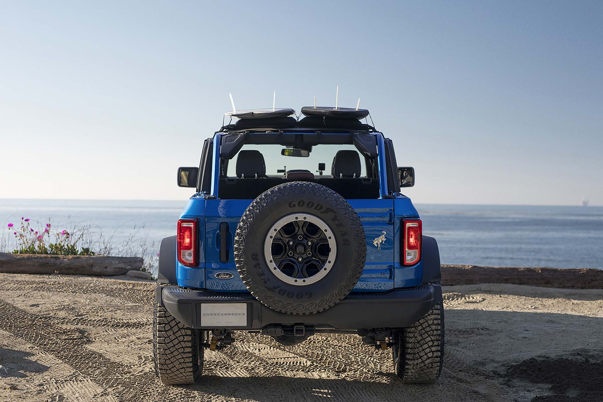 2021 Ford Bronco Riptide Concept Rear Wallpapers (3)