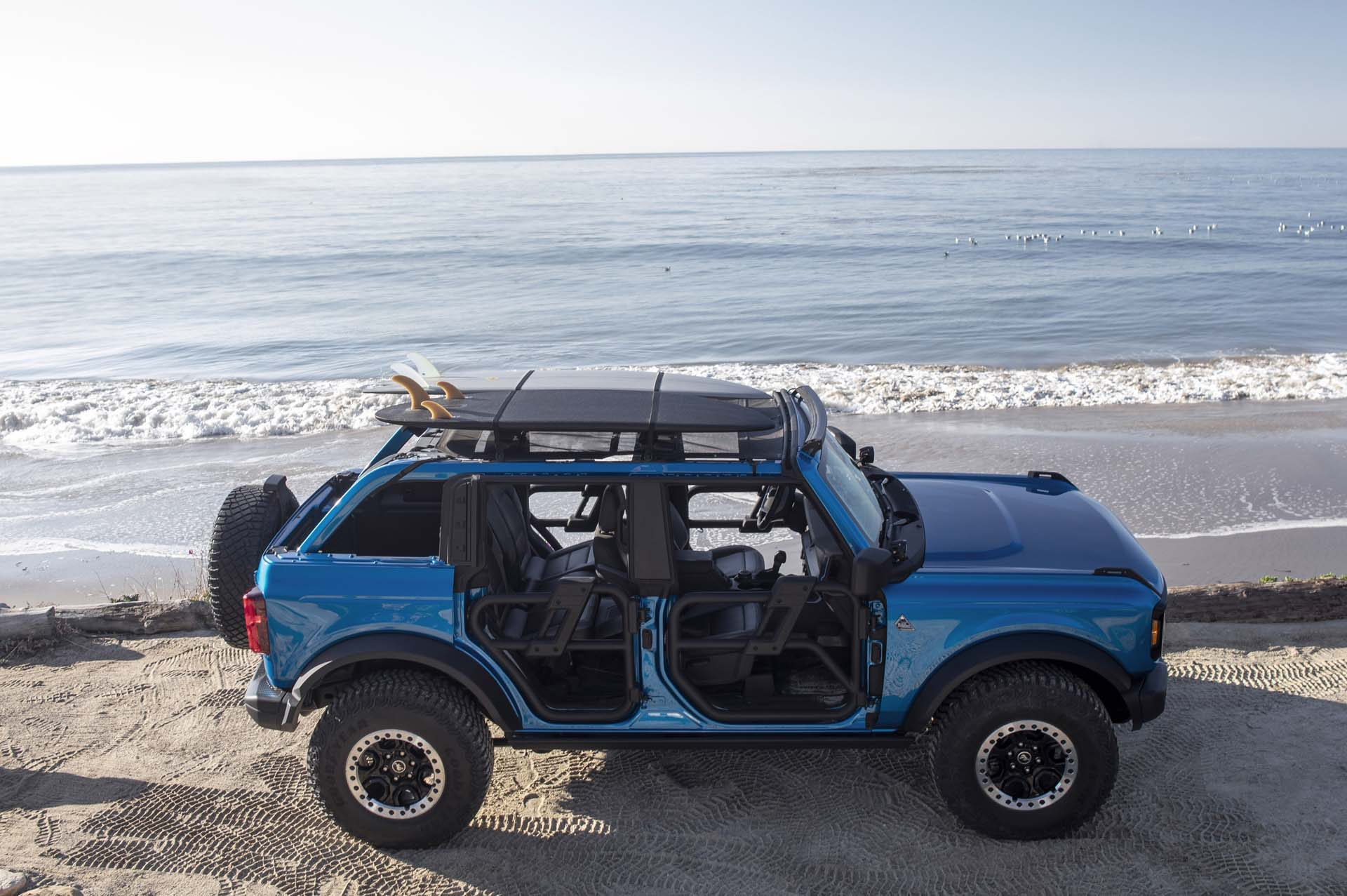 2021 Ford Bronco Riptide Concept Side Wallpapers (4)
