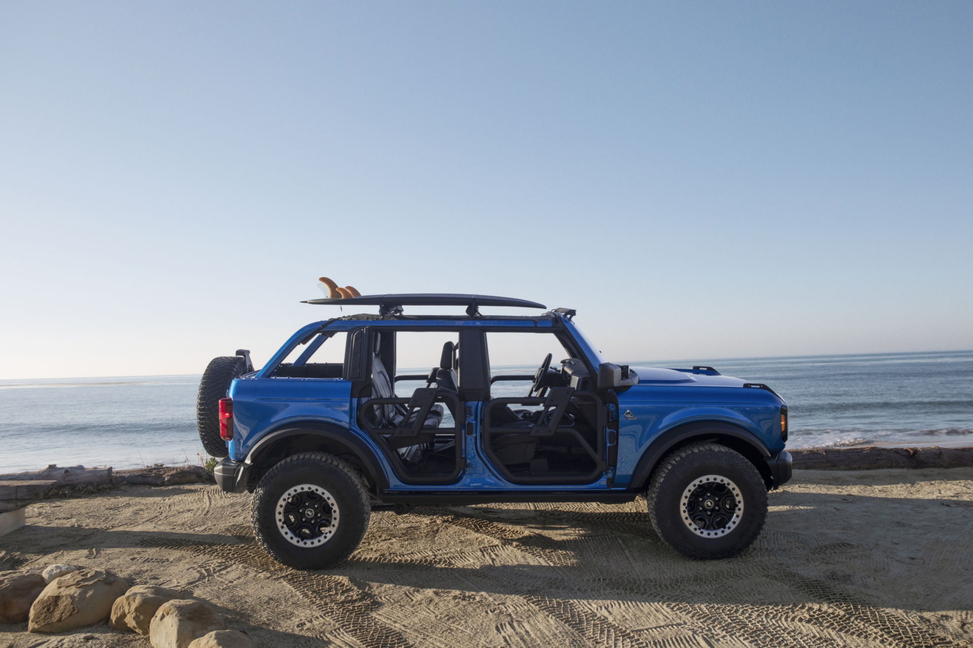 2021 Ford Bronco Riptide Concept Side Wallpapers (5)
