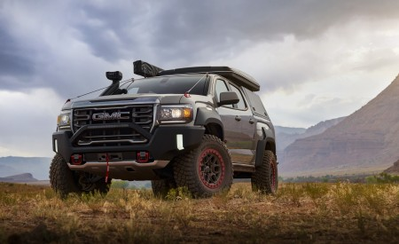 2021 GMC Canyon AT4 OVRLANDX Concept Wallpapers HD