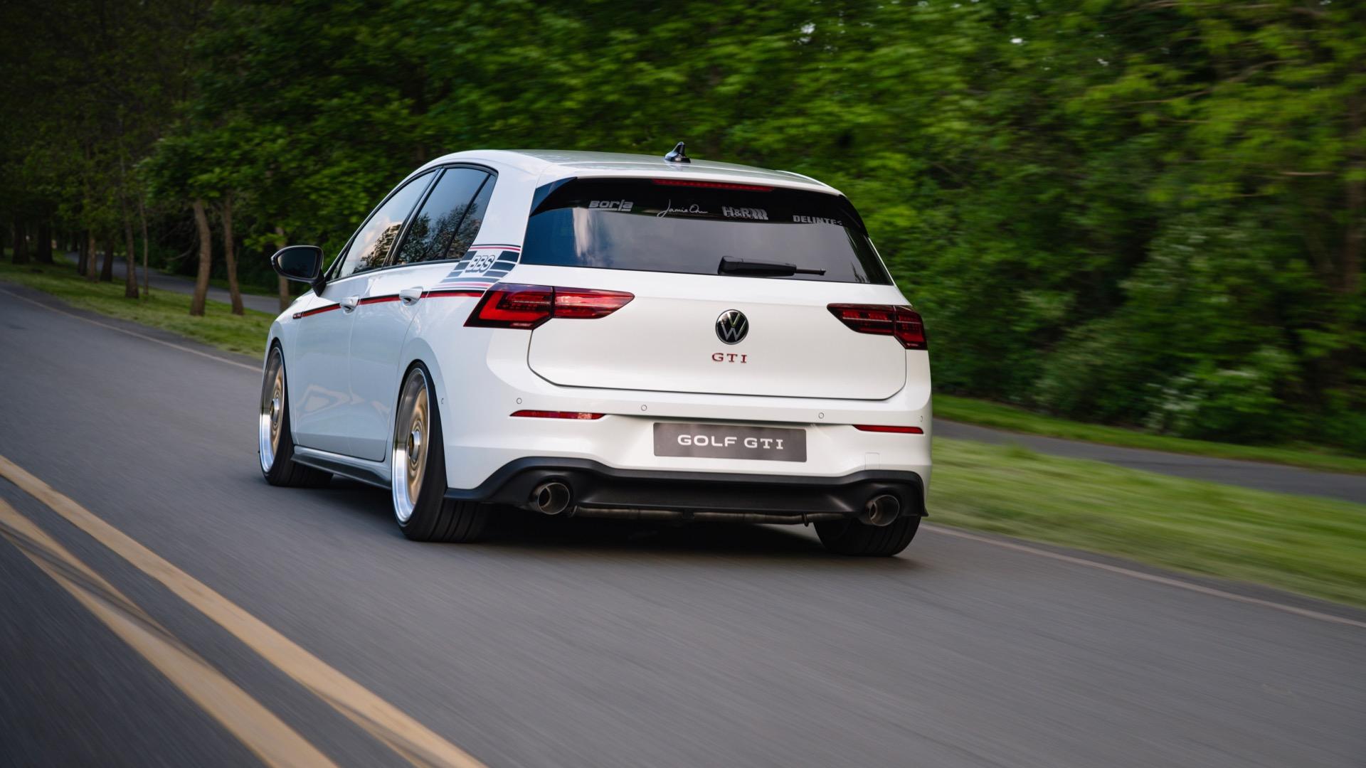 2021 Volkswagen GTI BBS concept Rear Wallpapers (7)