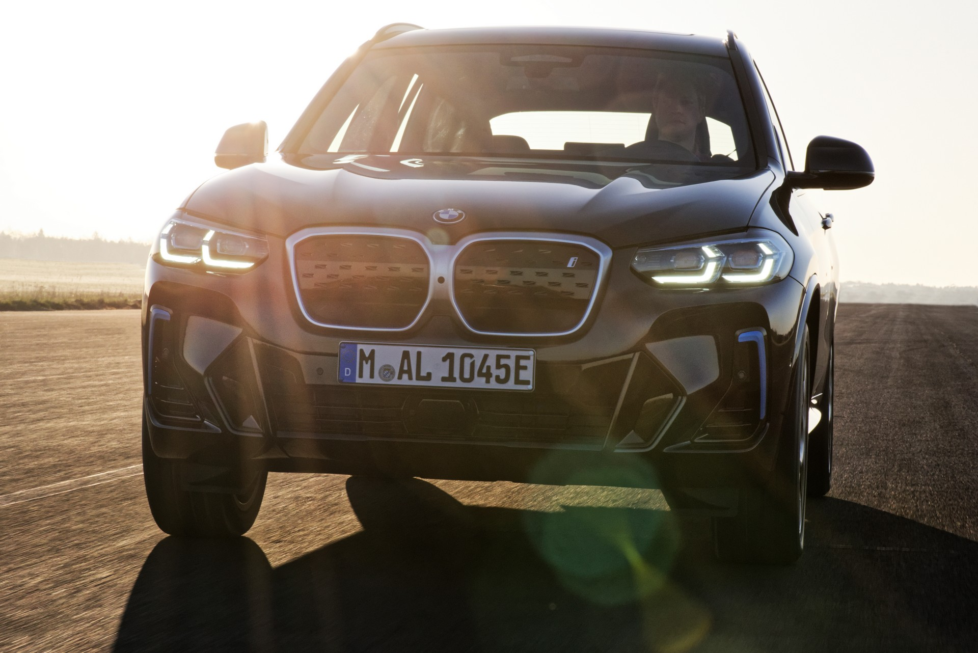 2022 BMW iX3 Front Wallpapers (2)