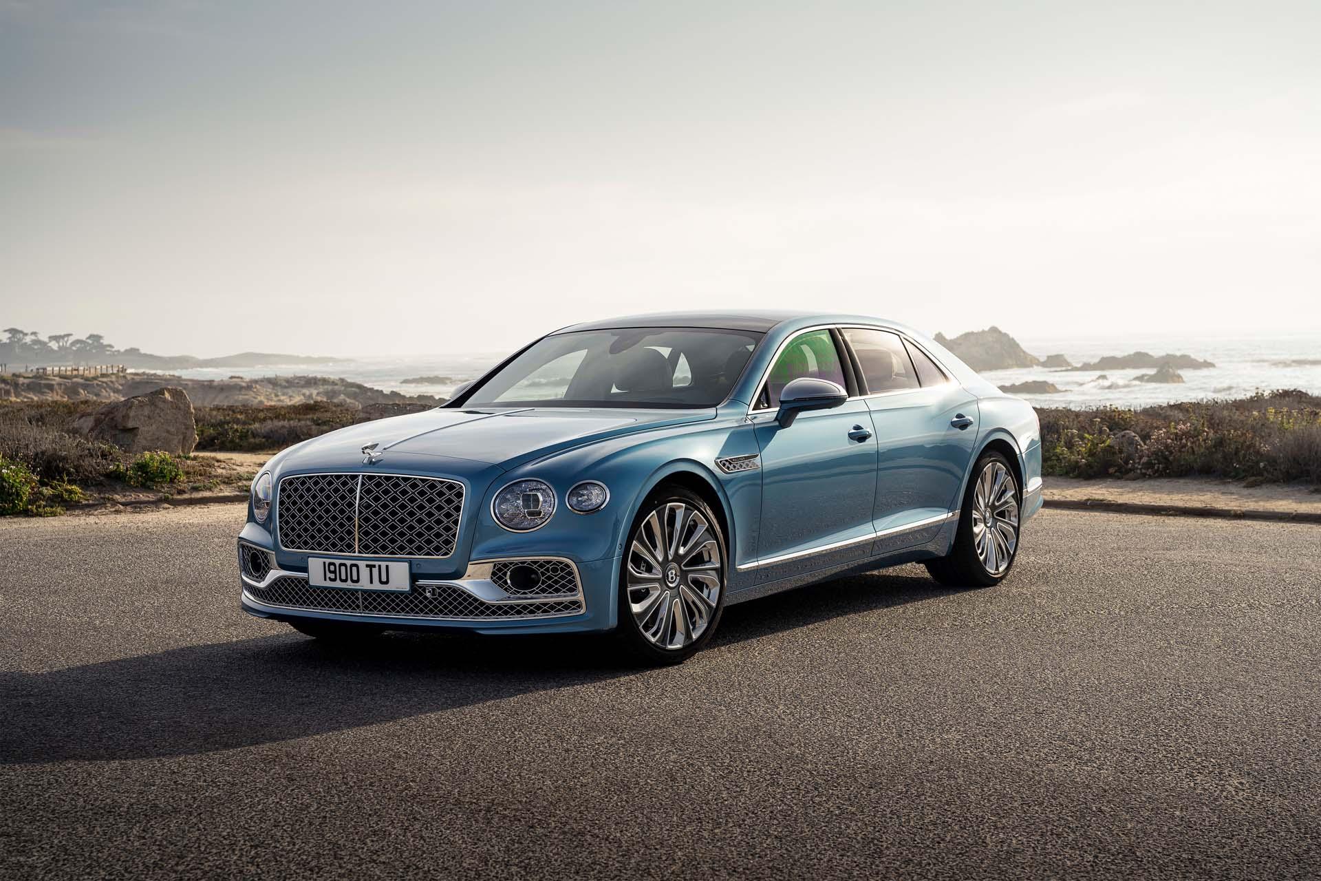 2022 Bentley Flying Spur Mulliner Front Three-Quarter Wallpapers (1)