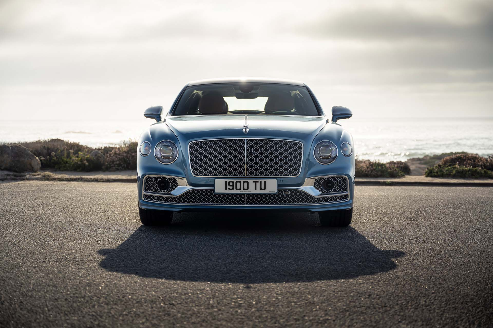 2022 Bentley Flying Spur Mulliner Front Wallpapers (2)