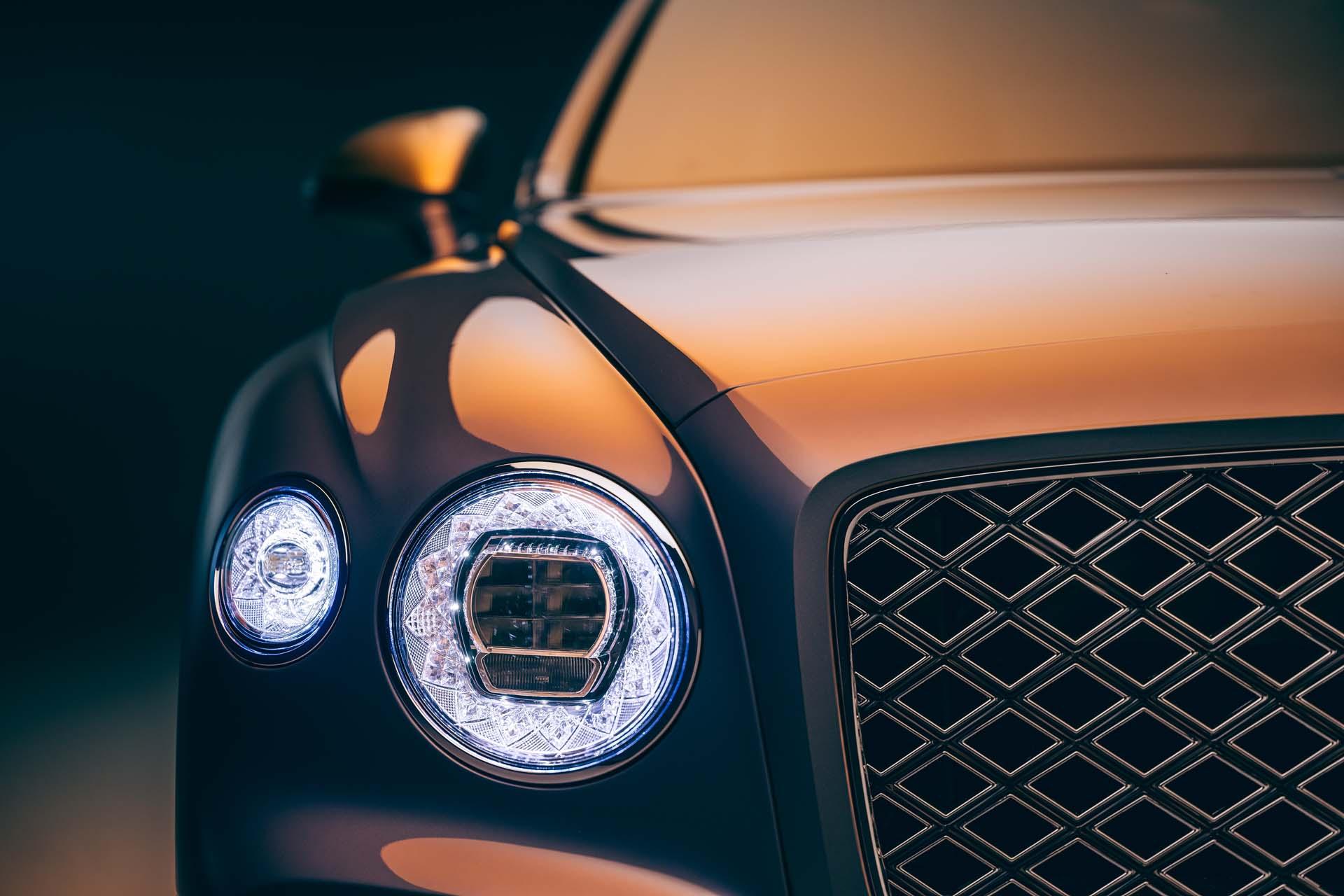 2022 Bentley Flying Spur Mulliner Headlight Wallpapers (5)