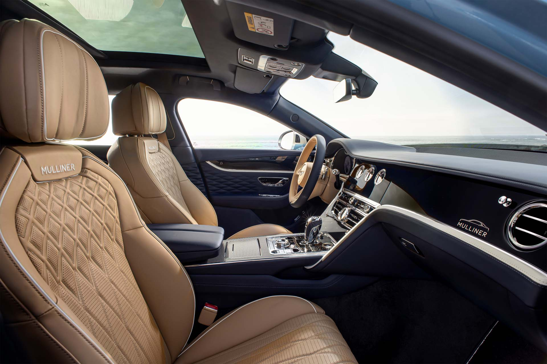 2022 Bentley Flying Spur Mulliner Interior Front Seats Wallpapers (10)