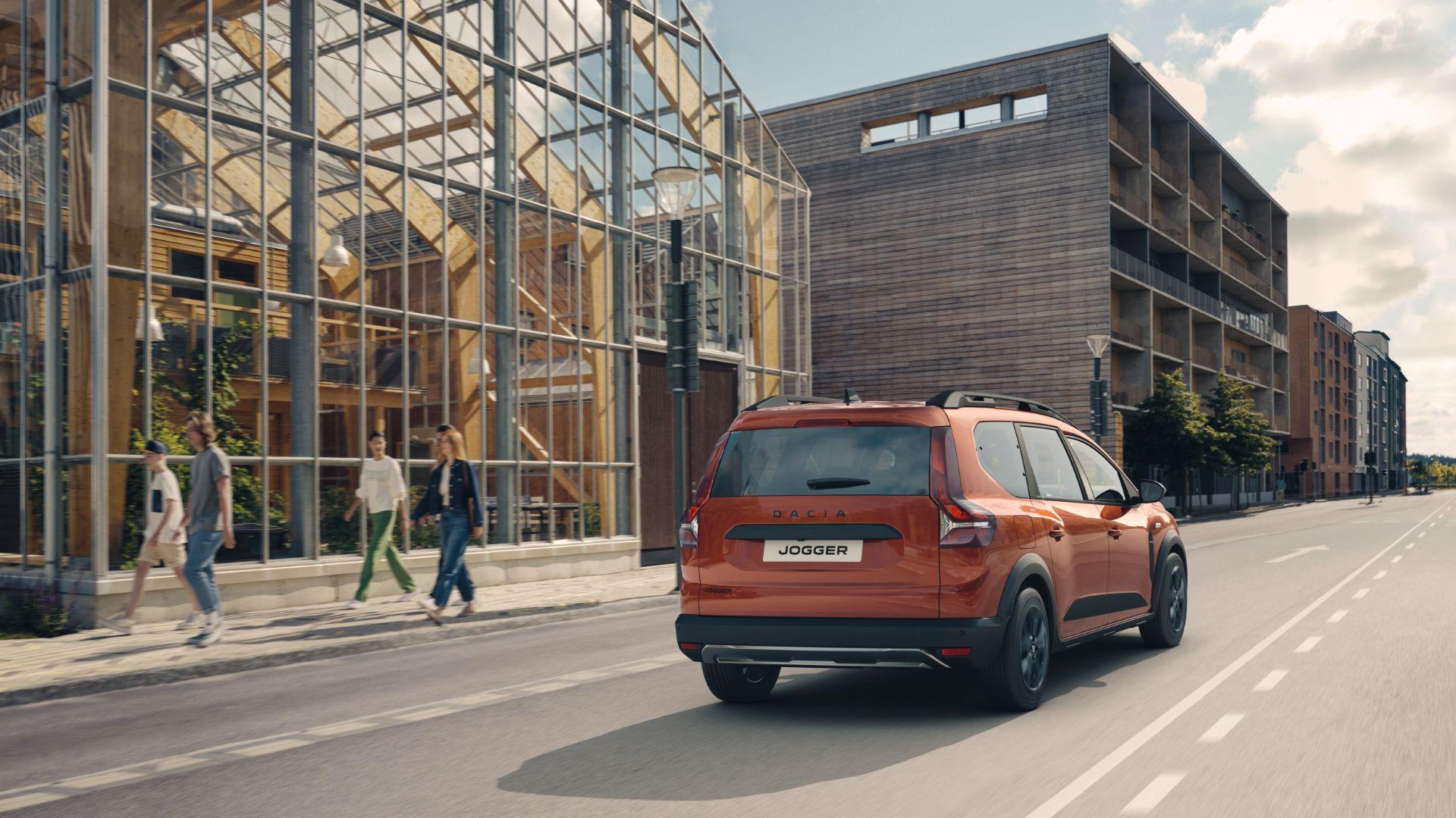 2022 Dacia Jogger Extreme Rear Three-Quarter Wallpapers (9)